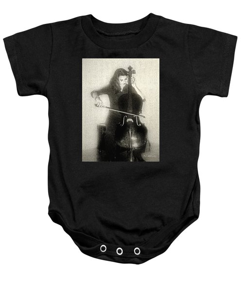 Drawing The Bow Baby Onesie
