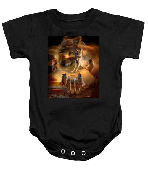 Dream Catcher - Wolfland Baby Onesie