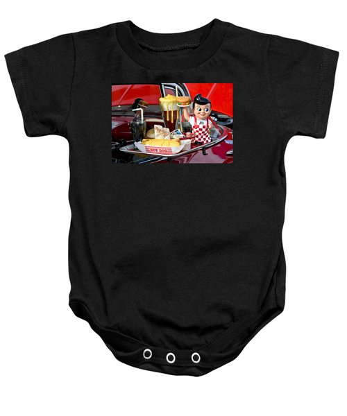 Drive-in Food Classic Baby Onesie