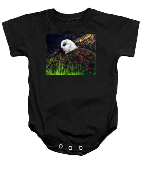 Duck At Dusk Baby Onesie