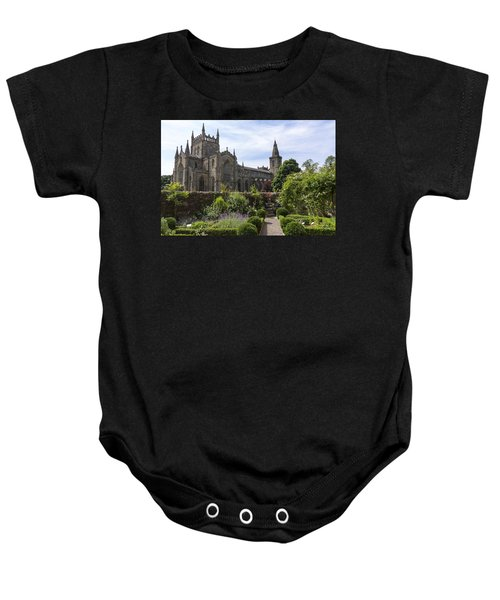 Dunfermline Abbey From The Abbot House Baby Onesie