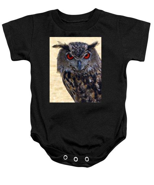 Eagle Owl Baby Onesie
