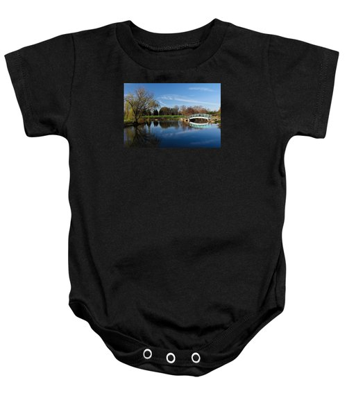 Early Morning Retreat Baby Onesie