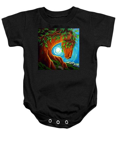 Earth Elder Baby Onesie