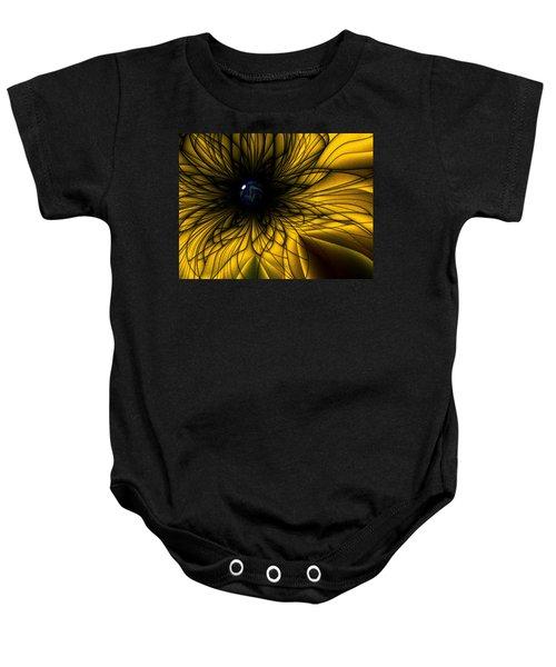 Earth Flower Baby Onesie