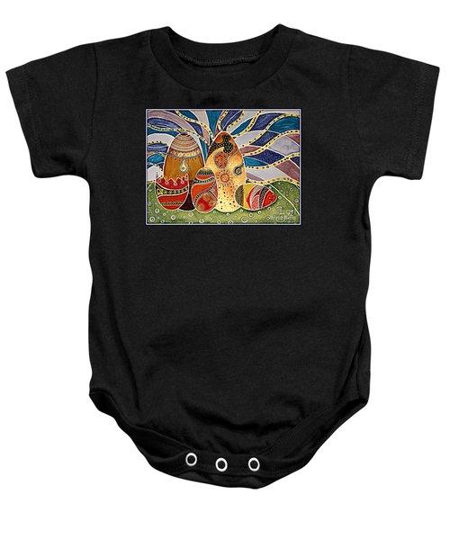 Easter Eggstravaganza Baby Onesie