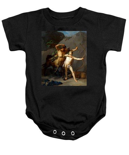 Education Of Achilles Baby Onesie