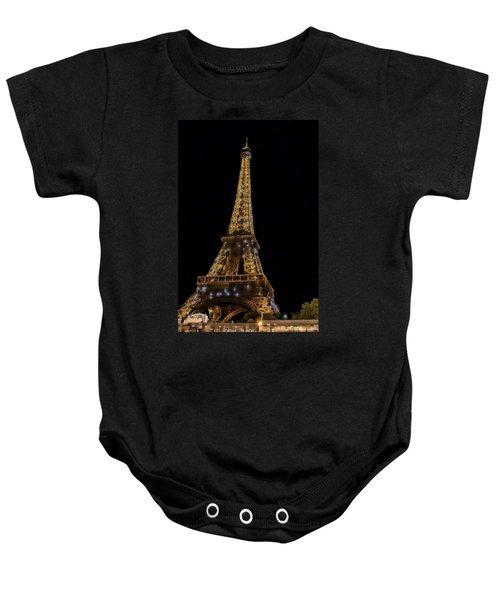 Eiffel Tower 4 Baby Onesie