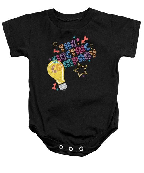 Electric Company - Electric Light Baby Onesie