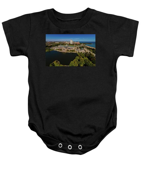 Elevated View Of The Museum Of Science Baby Onesie