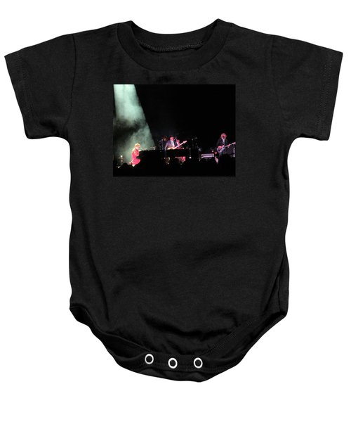 Elton And Band Baby Onesie by Aaron Martens
