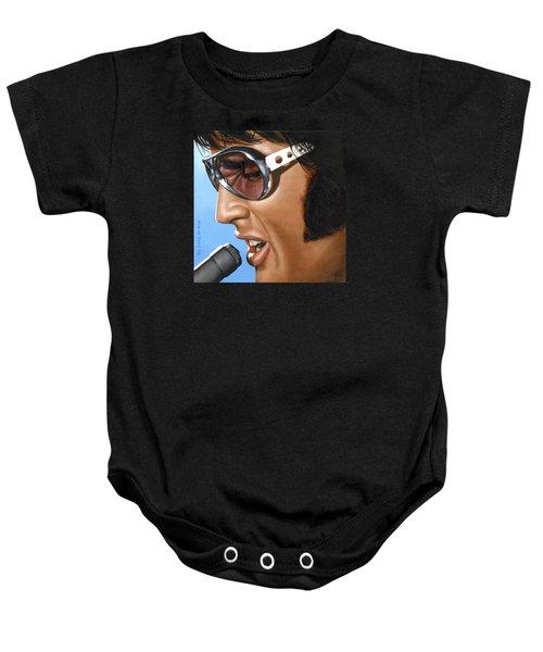Elvis 24 1970 Baby Onesie