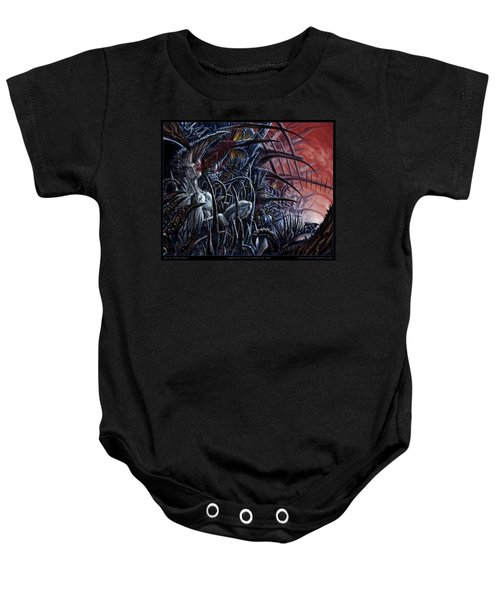 Embedded Into A World Of Pain Baby Onesie
