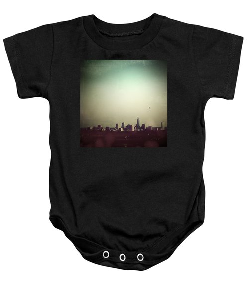 Escaping The City Baby Onesie