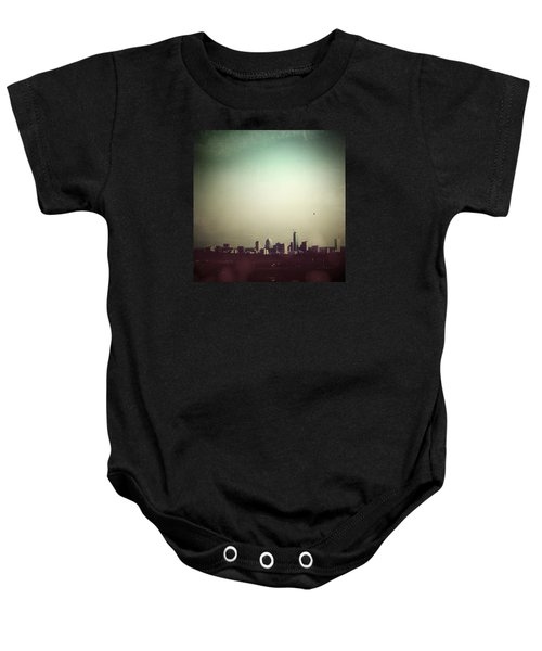 Escaping The City Baby Onesie