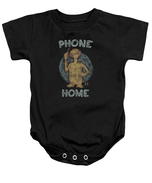 Et - Phone Baby Onesie by Brand A