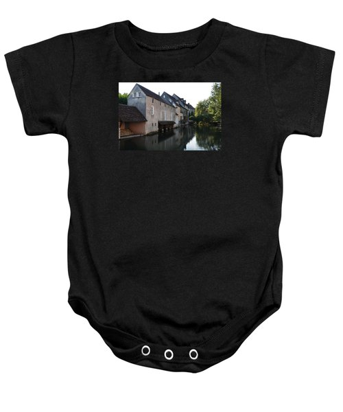 Eure River And Old Fulling Mills In Chartres Baby Onesie