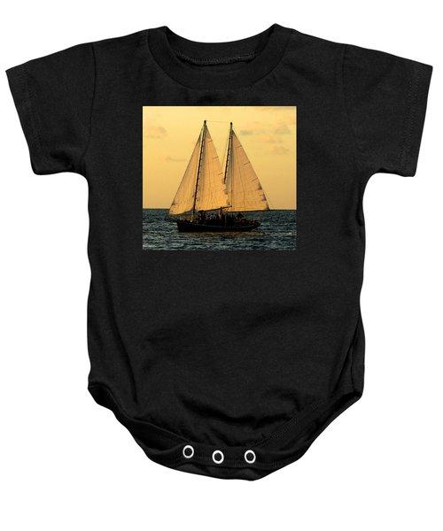 More Sails In Key West Baby Onesie