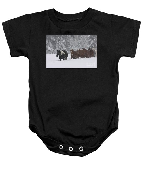 Faith Will Bring You Home Baby Onesie
