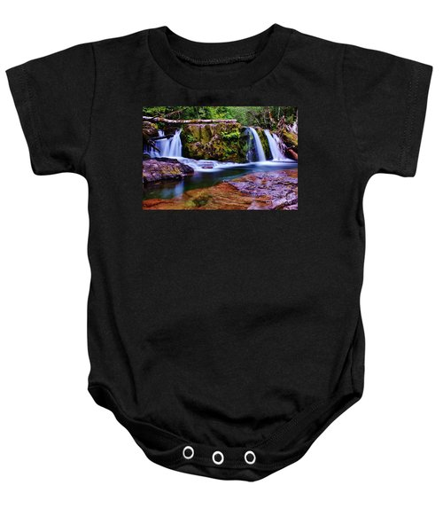 Fall Creek Oregon 3 Baby Onesie
