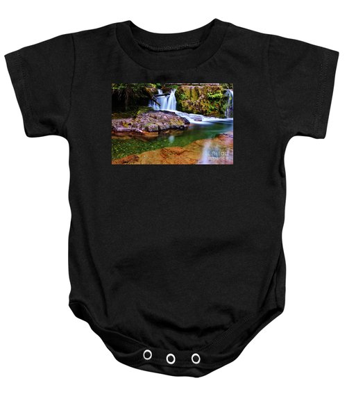 Fall Creek Oregon Baby Onesie