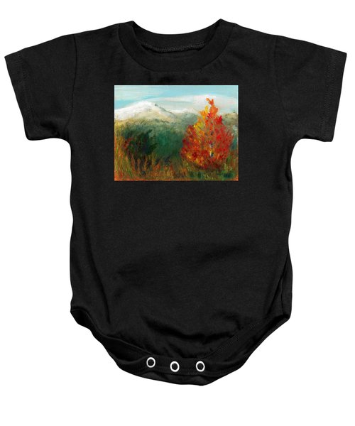 Fall Day Too Baby Onesie