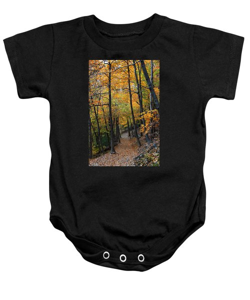 Fall Foliage Colors 03 Baby Onesie