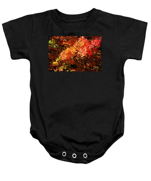 Fall Foliage Colors 21 Baby Onesie