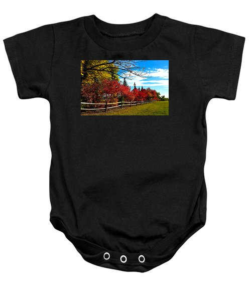 Fall Lineup Baby Onesie
