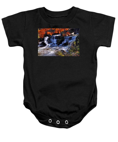Falls In The Fall Baby Onesie