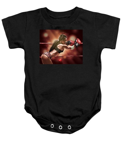 Fight Night Baby Onesie