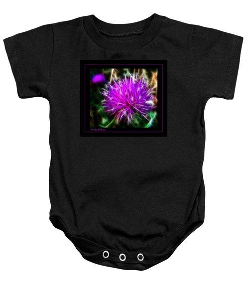 Fireworks Baby Onesie