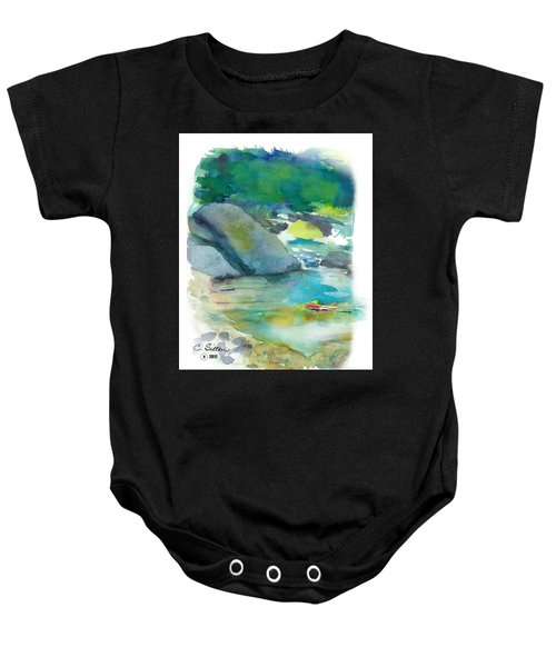 Fishin' Hole Baby Onesie