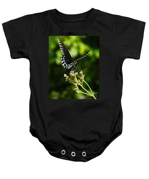 Flattering Flutter Baby Onesie