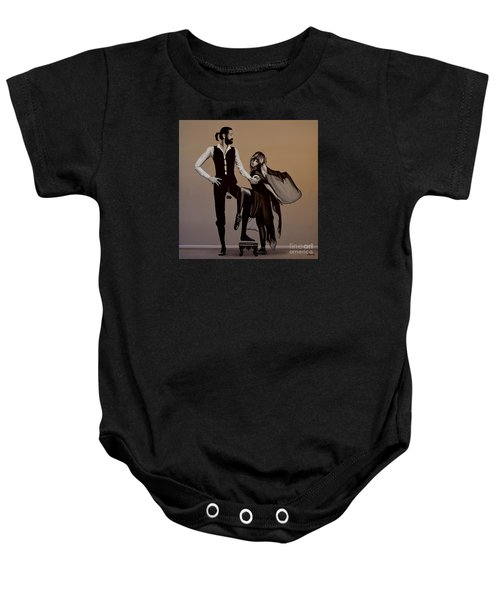 Fleetwood Mac Rumours Baby Onesie by Paul Meijering