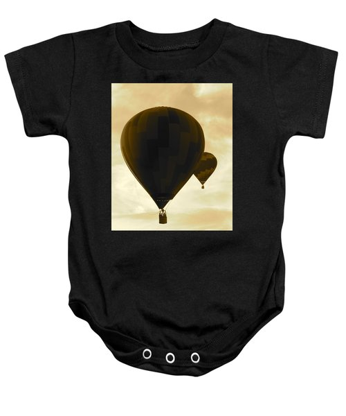 Flight Of Dreams  Baby Onesie