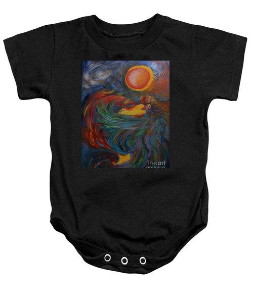 Flight Of The Phoenix Baby Onesie