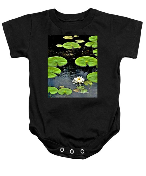Floating Lily Baby Onesie