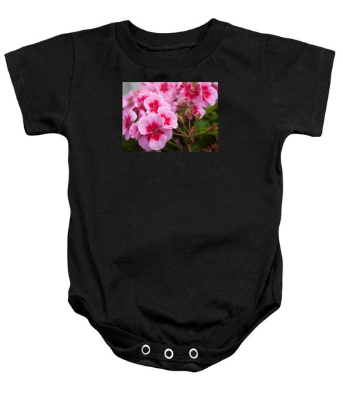 Flowers On A Rainy Sunday Afternoon Baby Onesie