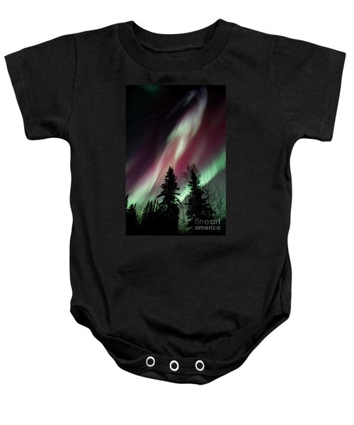 Flowing Colours Baby Onesie
