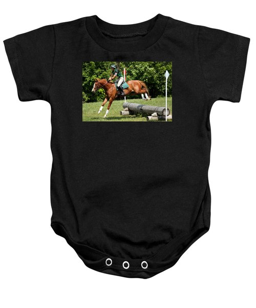 Flying Chestnut Baby Onesie