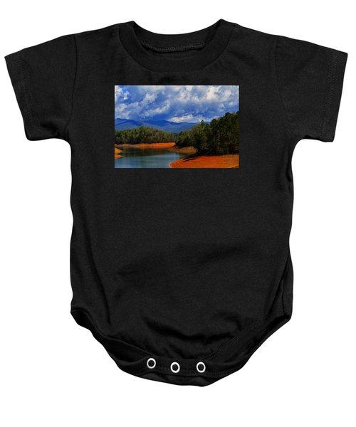 Fontana Lake Storm Baby Onesie