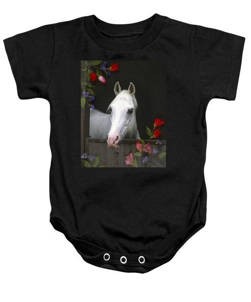 For The Roses Baby Onesie
