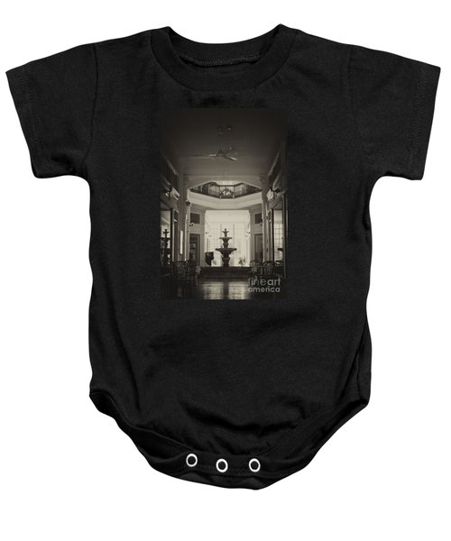 Fountain In The Light Baby Onesie