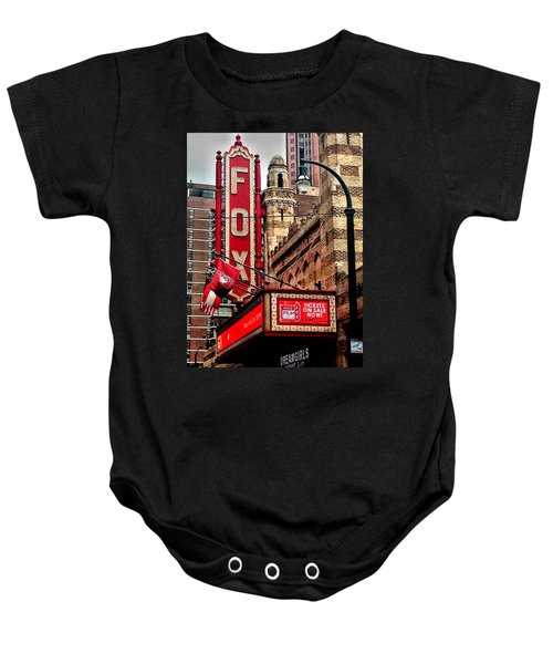 Fox Theater - Atlanta Baby Onesie