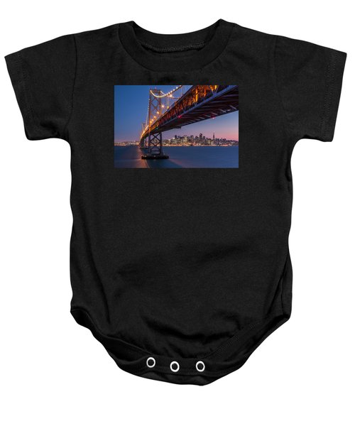 Framing San Francisco Baby Onesie