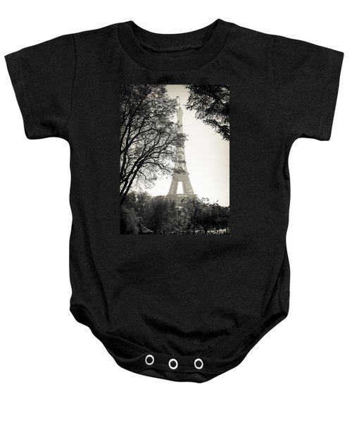 The Eiffel Tower Paris France Baby Onesie