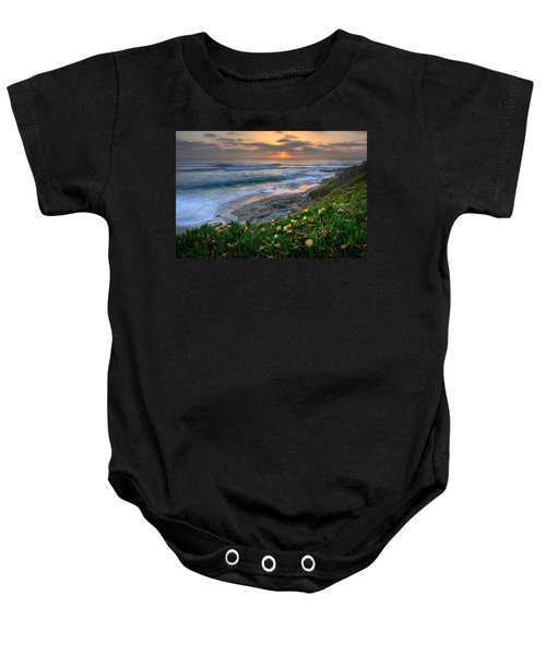 From Above Baby Onesie