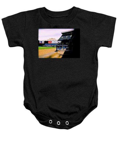 From The Dugout  The Yankee Stadium Baby Onesie