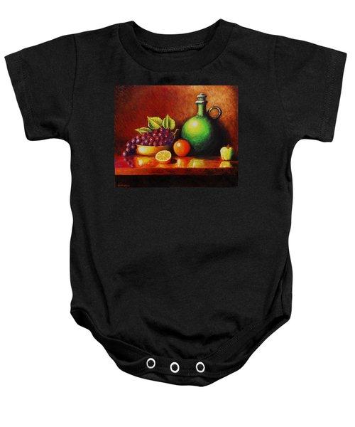 Fruit And Jug Baby Onesie